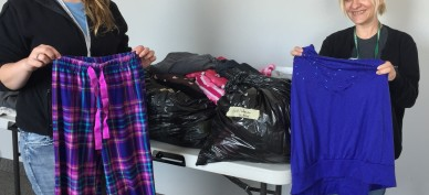 BX Bridges of hope donation drive (Mollie and Michelle, SS)