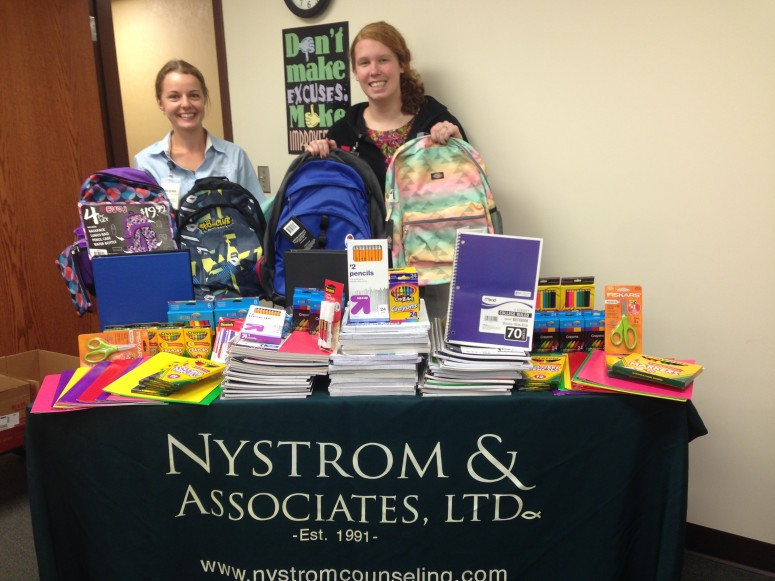 Nal Clinics Donate School Supplies Throughout Minnesota Nystrom