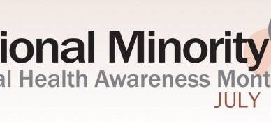 National Minority Mental Health Month Pic
