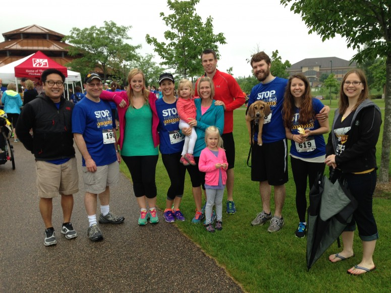 Nystrom Associates Ltd Sponsored And Participated In The 5k Walk