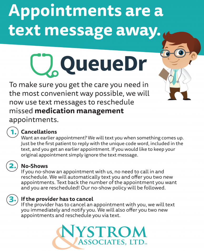 Appointments Are Now Just A Text Message Away Nystrom Counseling