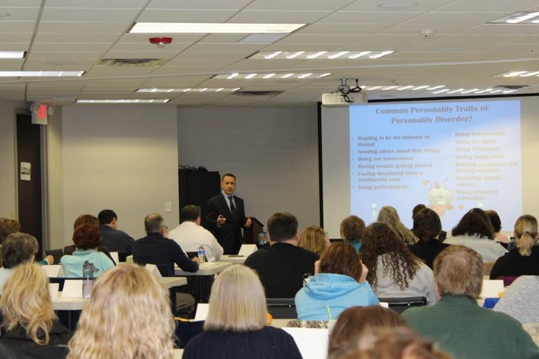Nal Welcomes Speaker Dr Daniel Fox Nystrom Counseling