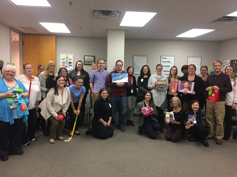 Nal Woodbury Spreads Christmas Cheer Nystrom Counseling