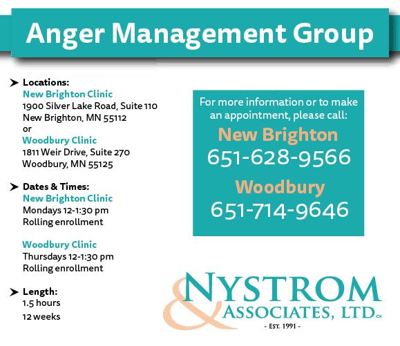 anger management group proposal