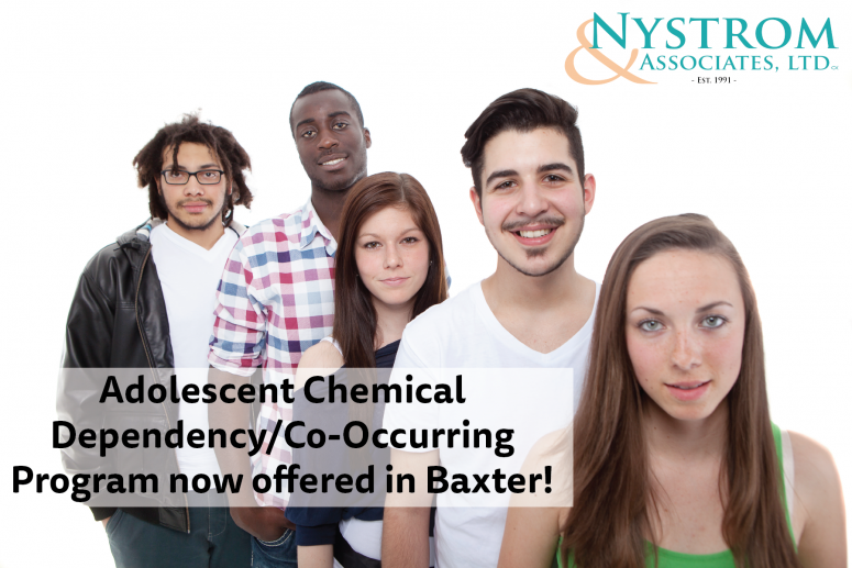 Adolescent Chemical Dependencyco Occurring Program Now Offered In