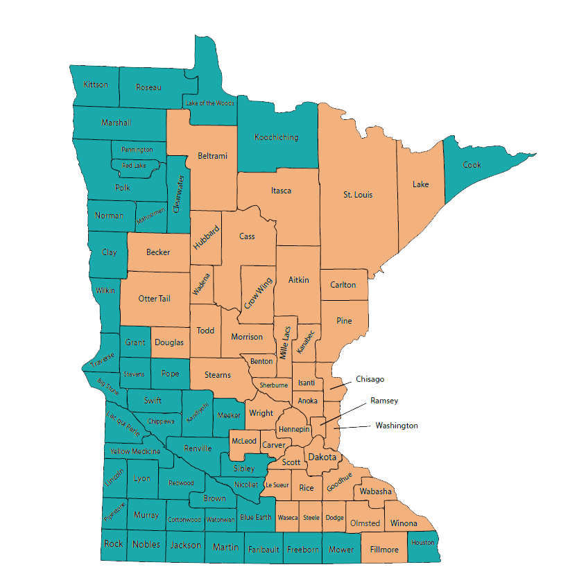 Available Counties