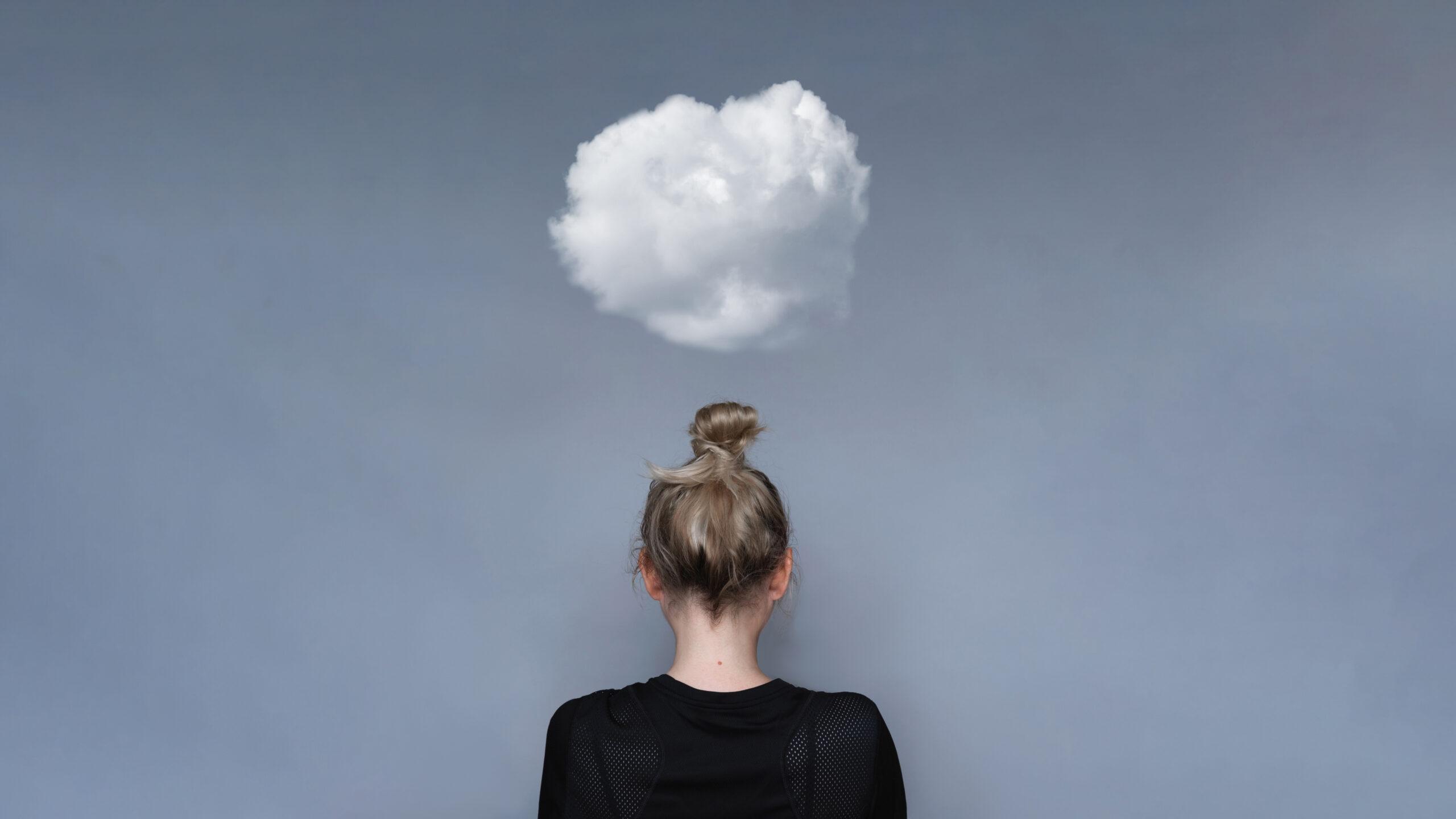 mental health day cloud